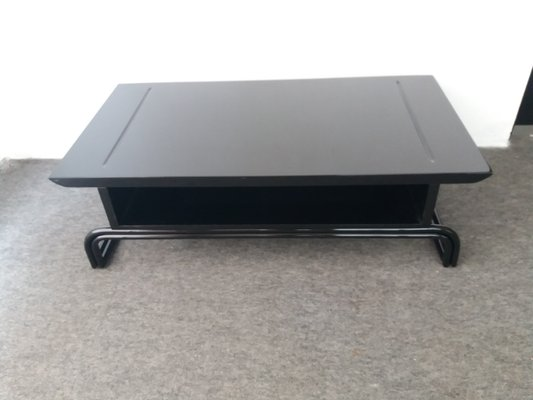 Black Lacquered Coffee Table 1970s For Sale At Pamono
