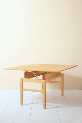 Vintage Extendable Square Dining Table Bei Pamono Kaufen
