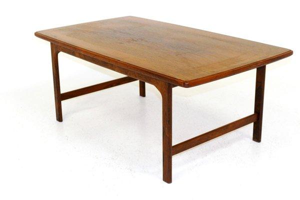 Swedish Rosewood Coffee Table 1960s Bei Pamono Kaufen