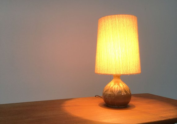 Mid Century German Pottery Table Lamp From Thoms Keramik For Sale At Pamono