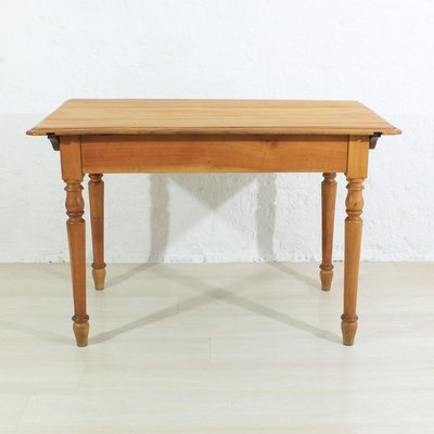 Antique Cherry Wood Dining Table 1920 For Sale At Pamono