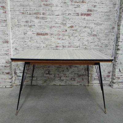 Vintage Formica Dining Table 1950s For Sale At Pamono