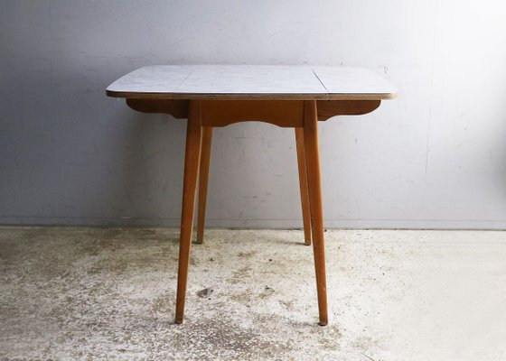 Mid Century Vintage English Formica Kitchen Table 1960s For Sale At Pamono