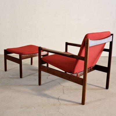 Ouro Preto Armchair And Ottoman By Michel Arnoult For Mobilia Contemporanea 1960s For Sale At Pamono