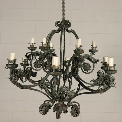 Wrought Iron Chandelier For At Pamono, Wrought Iron Chandelier Nz