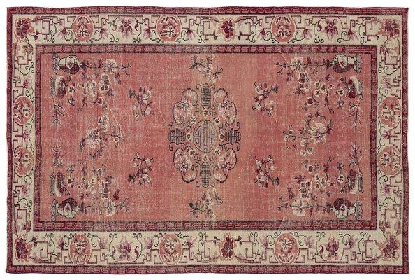 tapis turc vintage rouge 1 - Tapis Turc
