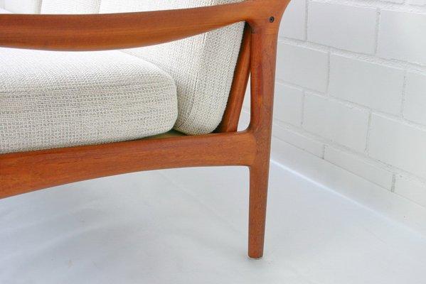 Sensational Danish Teak Sofa By Niels Eilersen 1960S Spiritservingveterans Wood Chair Design Ideas Spiritservingveteransorg