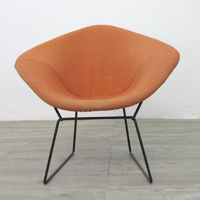 Vintage Diamond Chair By Harry Bertoia For Knoll, 1970s 1