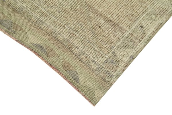 Anatolian Beige Hand Knotted Wool Vintage Runner Carpet For Sale At Pamono