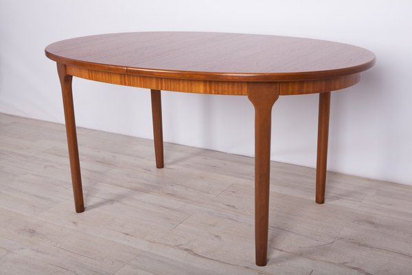 Round Extendable Dining Table From Mcintosh 1960s Bei Pamono Kaufen