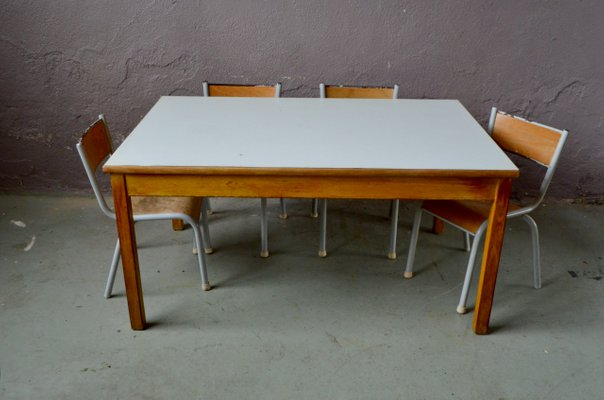 Vintage Childrens Table Chairs Set, Toddler Table And Chairs Set