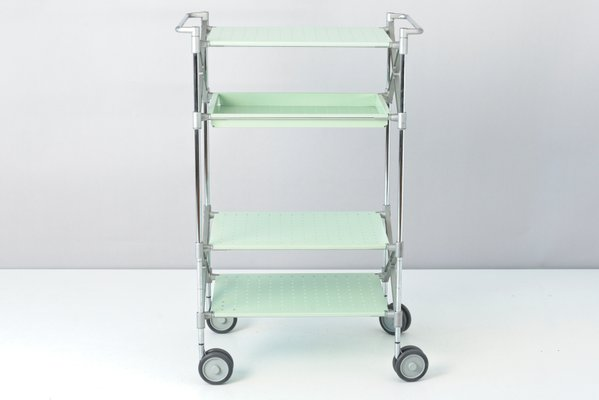 Colombo Universal Aluminium Shopping Trolley Grey