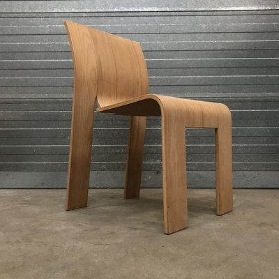Bentwood Strip Stackable Dining Chair By Gijs Bakker For Castelijn 1980s For Sale At Pamono