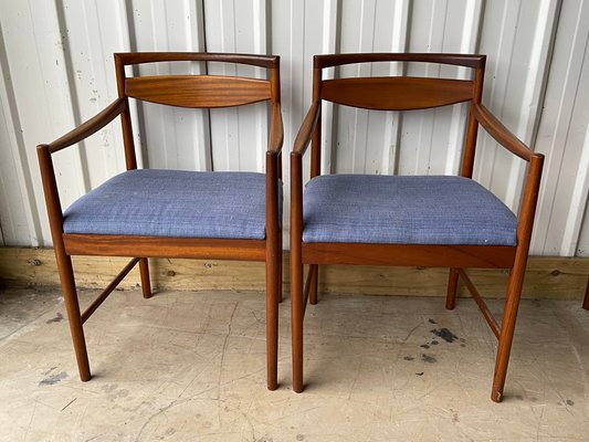 Vintage Teak Carver Dining Chairs From Mcintosh Set Of 2 For Sale At Pamono