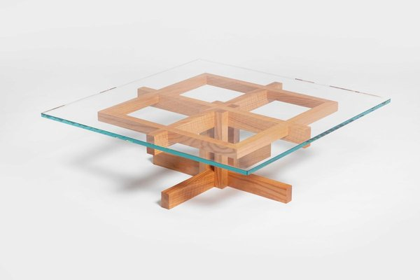 Ray Kappe Rk10 Coffee Table In Red Oak By Original In Berlin Germany 2020 For Sale At Pamono