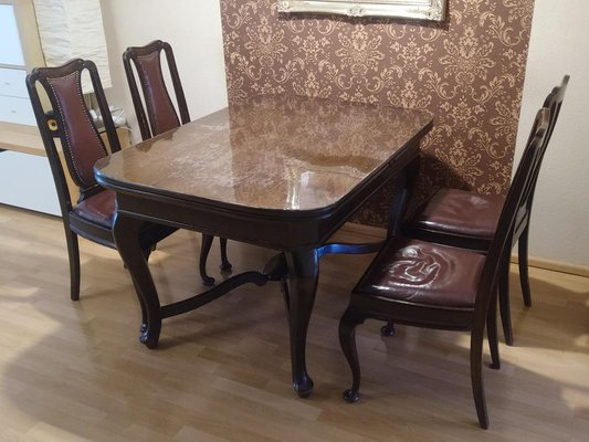 Antique Dining Room Table Chairs Set, Dining Room Table And Chairs