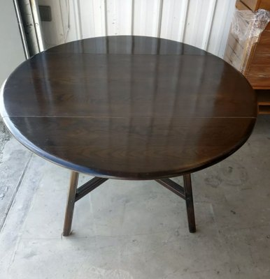 Mid Century Drop Leaf Extendable Dining Table From Ercol Bei Pamono Kaufen