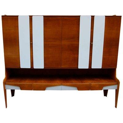 Mahogany Cabinet By Gio Ponti, 1960s 1
