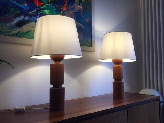 Danish Modern Table Lamps 1960s Set Of 2 For Sale At Pamono