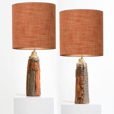 Ceramic Lamps By Bernard Rooke With, Custom Ceramic Table Lamps