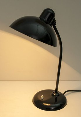 industrial table lamp by Kristian Dell for Kaiser idell 6556