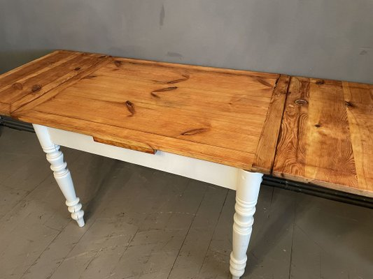 Antique Extendable Dining Table For Sale At Pamono