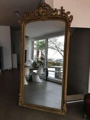 Large Antique Mirror For At Pamono, Huge Wall Mirror Uk