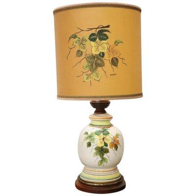 Vintage Italian Hand Painted Ceramic, Ceramic Table Lamps India
