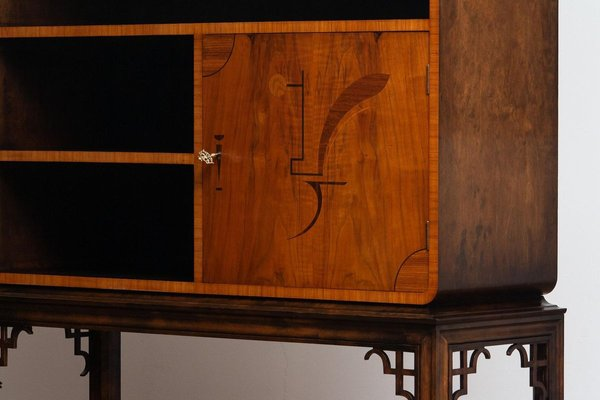 Art Deco Dry Bar Display Cabinet, Dry Bar Furniture
