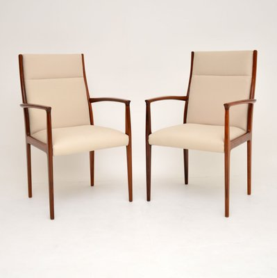 Vintage Danish Carver Dining Chairs 1960s Set Of 2 For Sale At Pamono