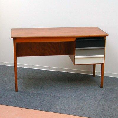 vintage wooden teacher s desk 1960s for sale at pamono rh pamono com vintage wood desk tray vintage wood desk chair