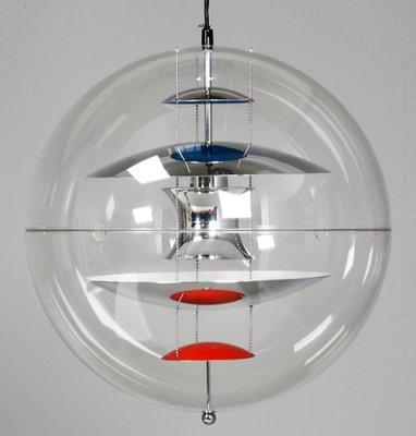 grande Poulsen1969 Verner Lámpara colgante Louis forma de globo Panton para de en N8nwO0vm
