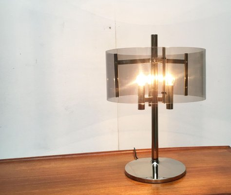 Mid Century Space Age Acrylic Table Lamp For Sale At Pamono