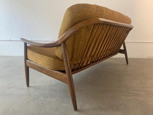 British Teak Sofa From Greaves Thomas, Thomas And Son Furniture