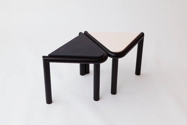 Sgabello o tavolino troika nero di vonnegut kraft in vendita su pamono