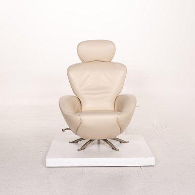 Dodo Cassina Cream Leather Armchair By Toshiyuki Kita For Sale At Pamono