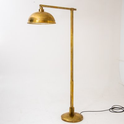 Vintage Brass Floor Lamp For At Pamono, Antique Brass Pharmacy Desk Lamp