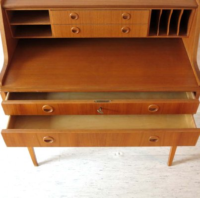 3446fe67cc7e4 Danish Secretary with Drawers   Compartments
