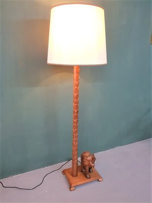 Mid Century South African Floor Lamp, African Table Lamps