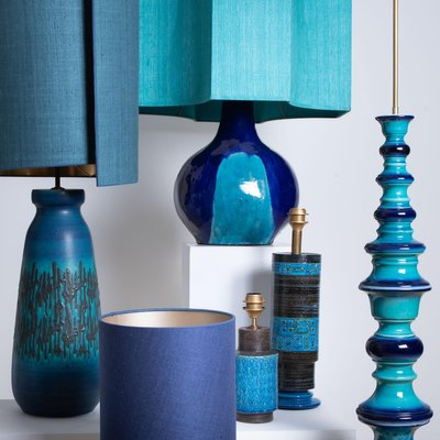 Table Lamps From Holmegaard With New, Custom Ceramic Table Lamps
