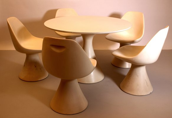 Dining Set By Maurice Burke For Arkana 1960s For Sale At Pamono