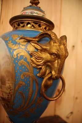 Marks from the 1800s sevres Porcelain and