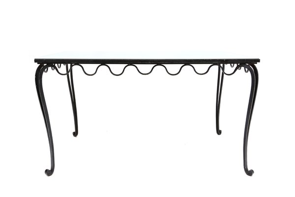 Wrought Iron Desk Or Dining Table, 1930s 2