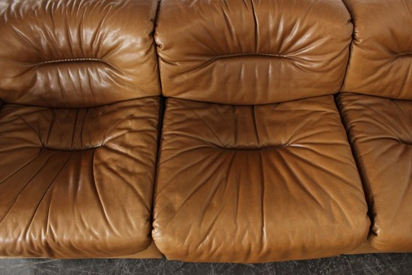 Vintage Leather Ds14 7 Piece Sectional, Vintage Leather Sectional Sofa