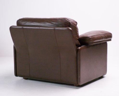 Poltrona Club Vintage.Vintage Leather Lounge Chair By Tito Agnoli For Poltrona Frau