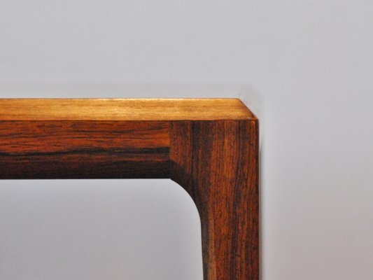 Mid Century Rosewood Coffee Table By Johannes Andersen For CFC Silkeborg 2