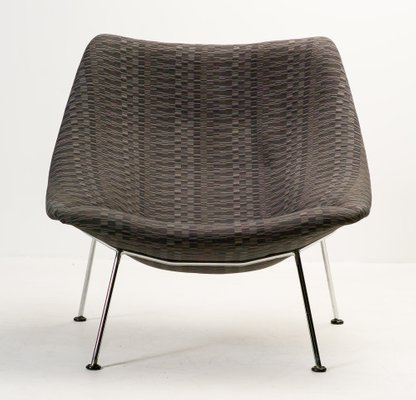 Large F157 Oyster Lounge Chair by Pierre Paulin for Artifort 2 & Large F157 Oyster Lounge Chair by Pierre Paulin for Artifort for ...