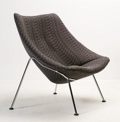 Grande Chaise F157 Oyster Lounge Par Pierre Paulin Pour Artifort 1