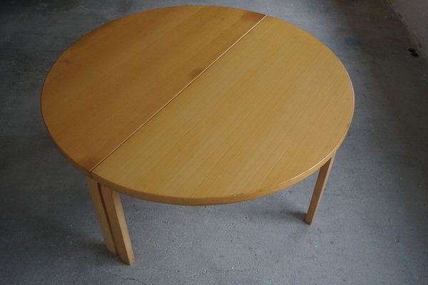 Large Round Dining Table In Birch By, Very Large Round Dining Table