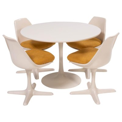 Arkana 115 Yellow Dining Chairs, Yellow And White Dining Room